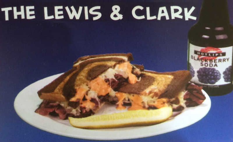 Lewis and Clark Sandwich at Tsunami Sandich Company